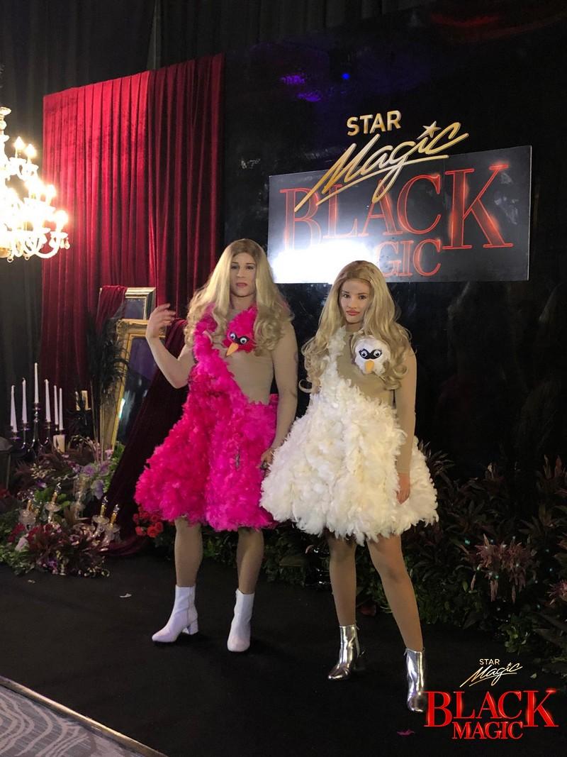 Love teams who gave us eerie kilig in their Halloween costumes in Star Magic Black Magic