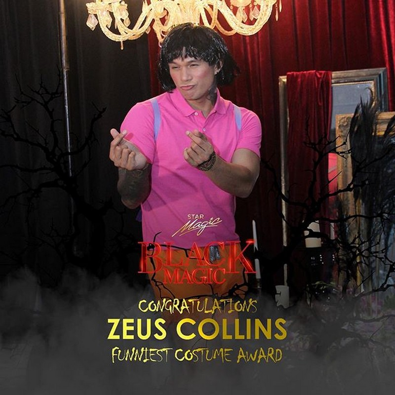 Dimples, Enzo, Kira lead spookiest awardees in Star Magic Black Magic Halloween Ball