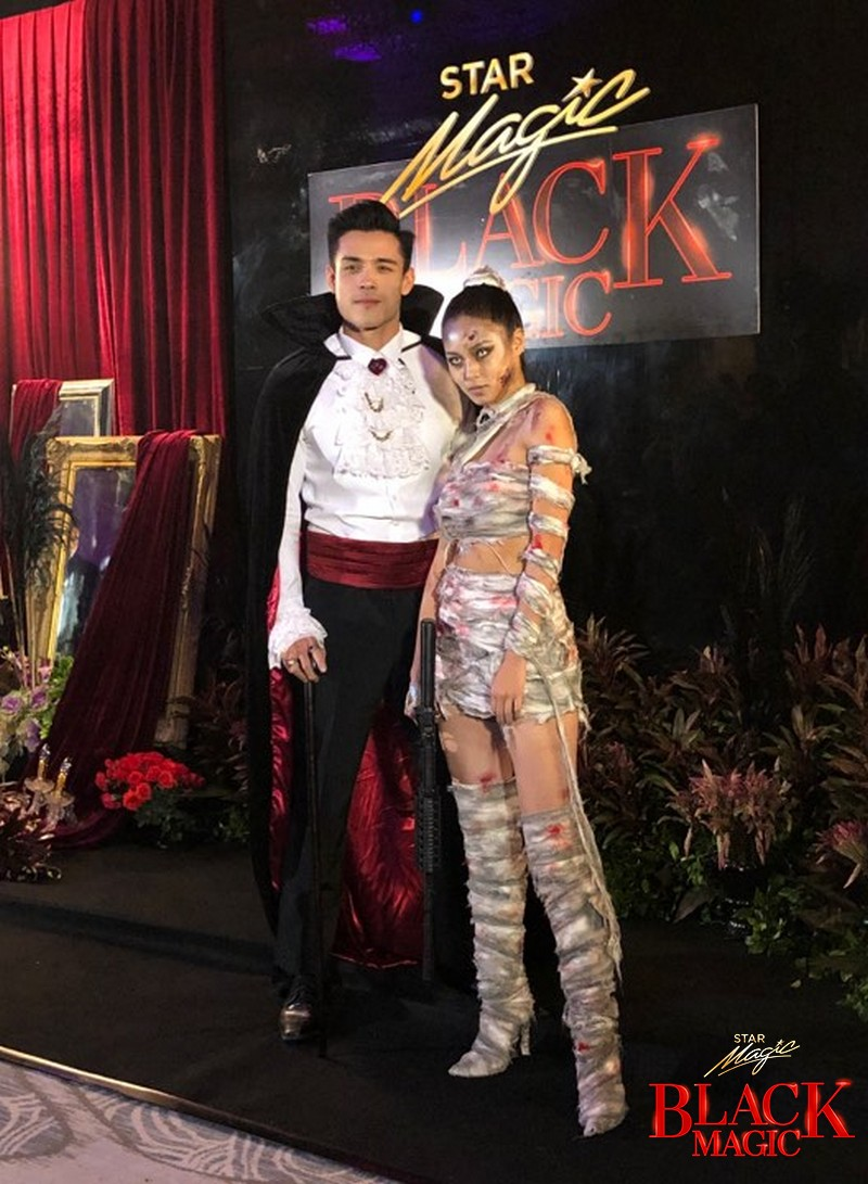 Real-life couples who startled us with their fierce Halloween getup on Star Magic Black Magic