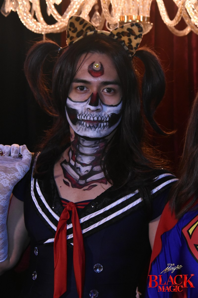 Celebrities you won't recognize in their fun, elaborate Halloween pieces on Star Magic Black Magic