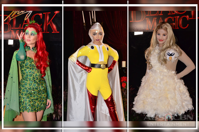 Kapamilya beauties in their Halloween spookiest on Star Magic Black Magic
