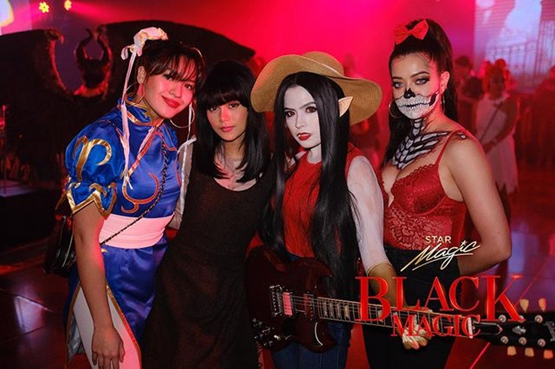 IN PHOTOS: An exclusive inside look at the Star Magic Black Magic Halloween party