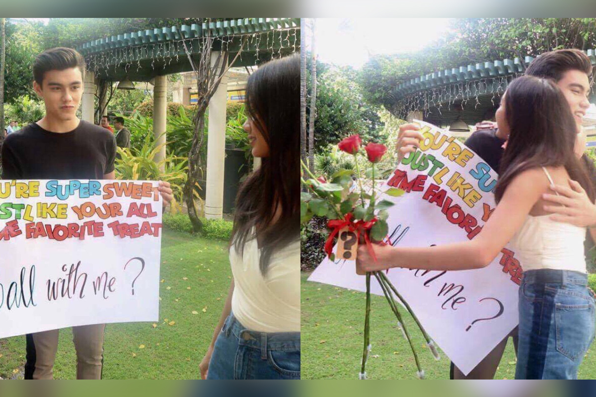 LOOK: Bailey's cute Star Magic Ball proposal to Ylona!