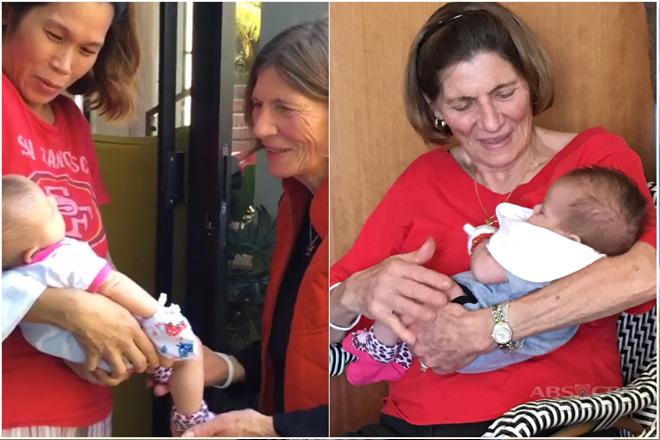 LOOK: Baby Malia meets her grandparents