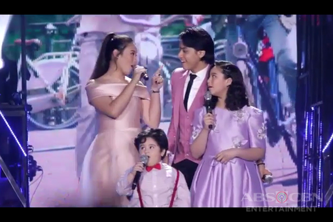 LOOK: Daniel Padilla happily performs with his family at the Big Dome