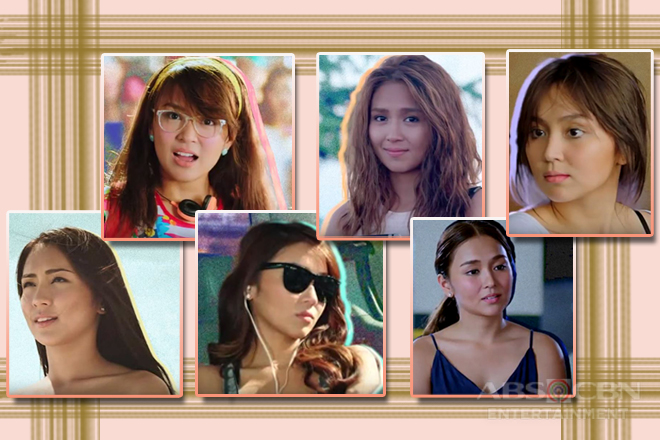 Kathryn Bernardo's Hairstyle Evolution in Films