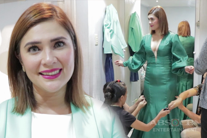 "Vina Morales shares details on ""conservatively sexy"" gown for ABS-CBN Ball 2018"