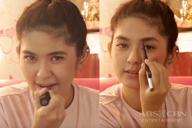 Loisa Andalio takes on the 2 Minute Make-up Challenge