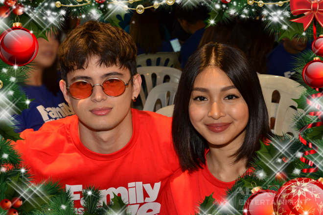 How James and Nadine plan to spend Christmas 2018