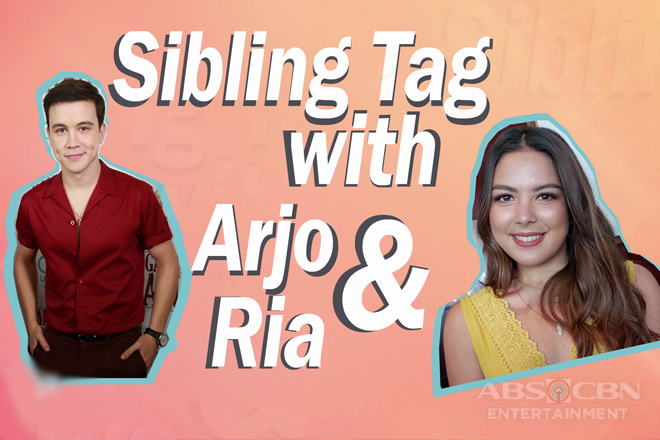 Sibling Tag Challenge with Ria and Arjo