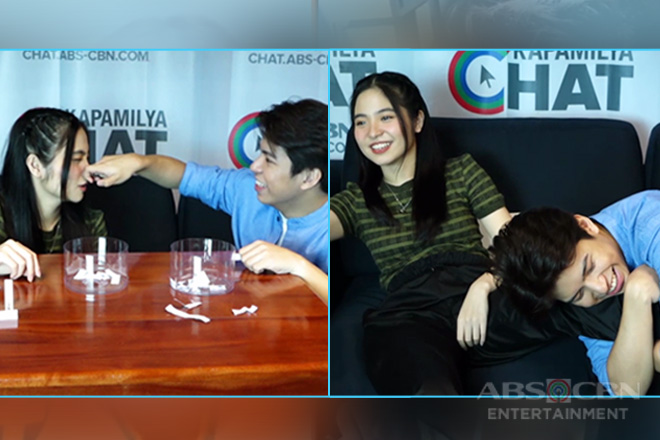 Watch: NashLene in Dikitan Challenge Level Up