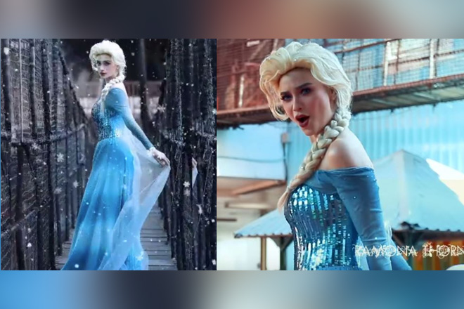 WATCH: Arci Muñoz transforms into Queen Elsa of Frozen as she celebrates her 30th birthday
