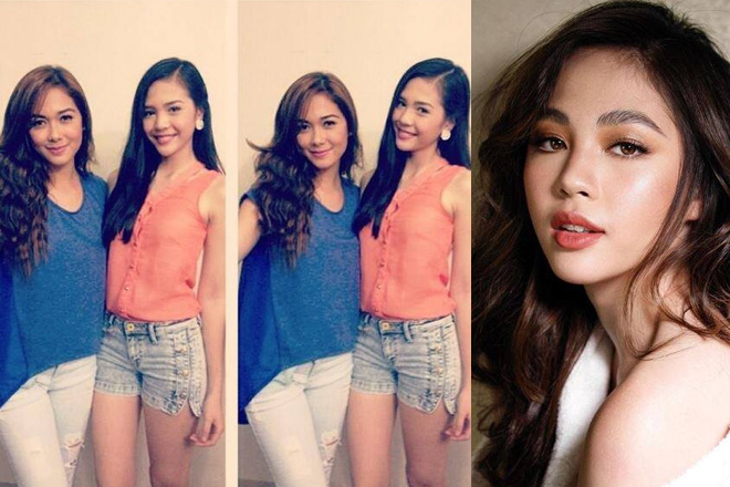 How is Janella Salvador related to Maja Salvador?