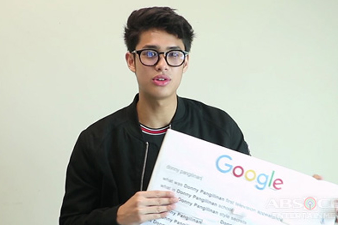 Donny Pangilinan answers the web's most searched questions about him